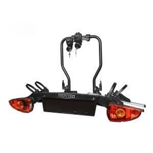 Suport biciclete Menabo Sirio pentru 2 biciclete cu prindere pe carligul de remorcare