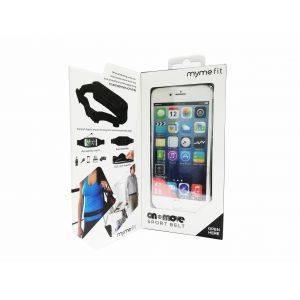 Borseta sport si fitness MyMe Fit Active Black - Alergat, Fitness, telefon