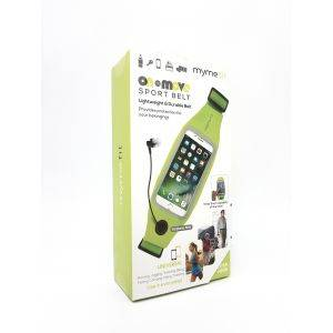 Borseta sport si fitness MyMe Fit Active Green - Alergat, Fitness, telefon
