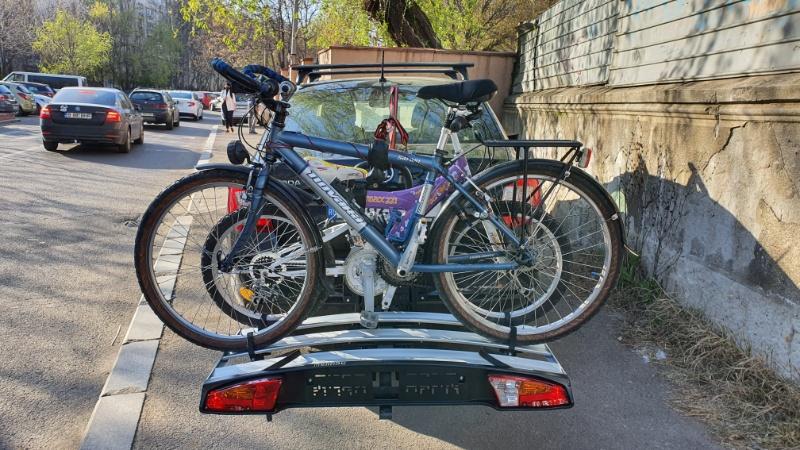 Suport Bicicleta pe carlig Menabo Alcor