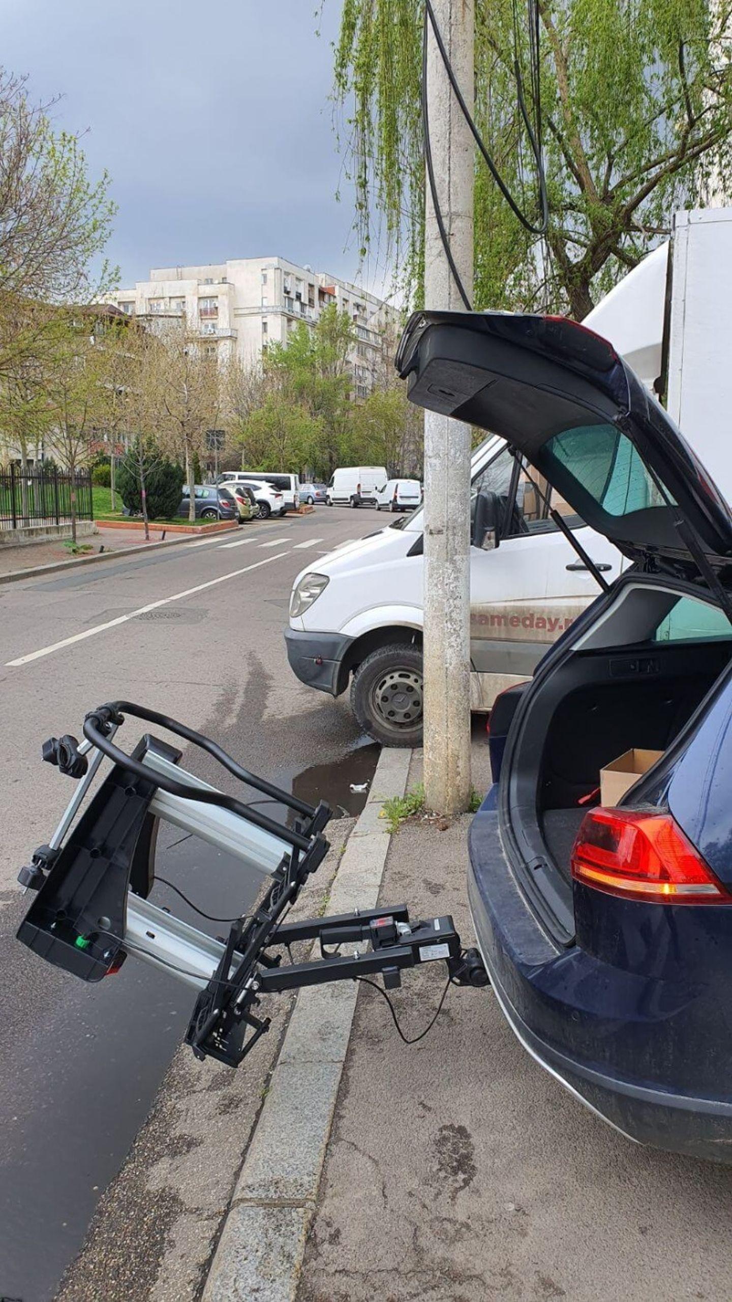 Suport Bicicleta pe carlig remorcare Menabo Antares