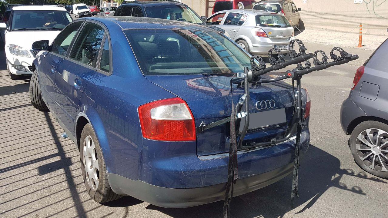 Audi A4 suport bicicleta Menabo Mistra