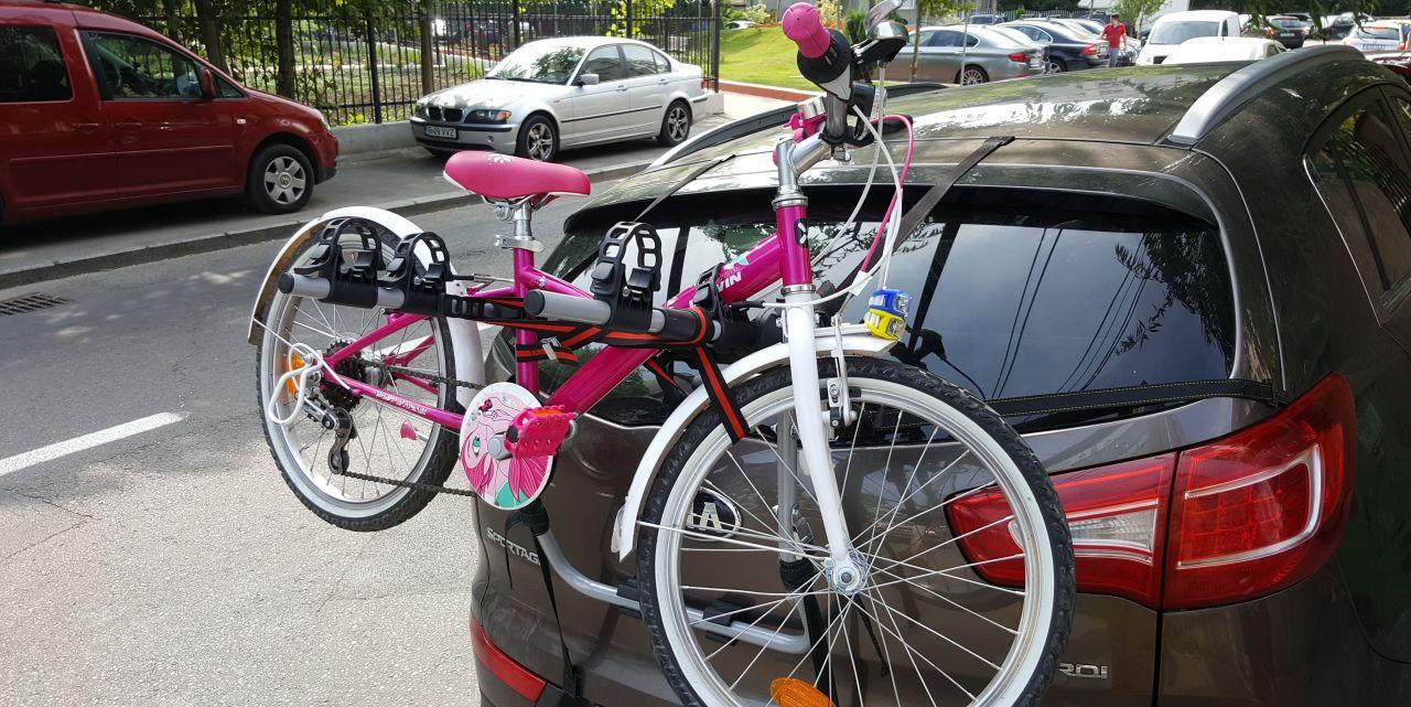 Kia Sportage suport bicicleta Menabo Mistral