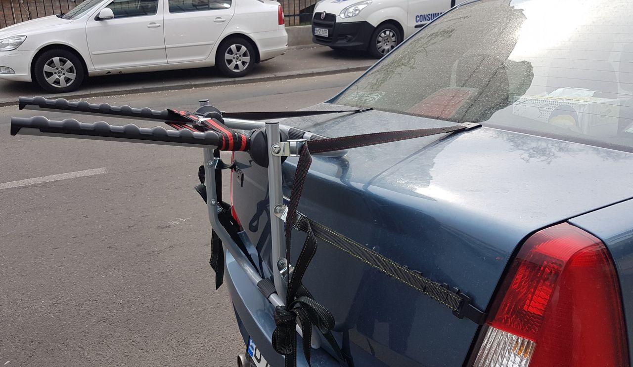 Dacia Logan suport bicicleta Menabo Biki