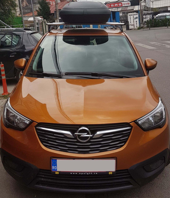 Opel CrossLand X cutie portbagaj Carbon Look