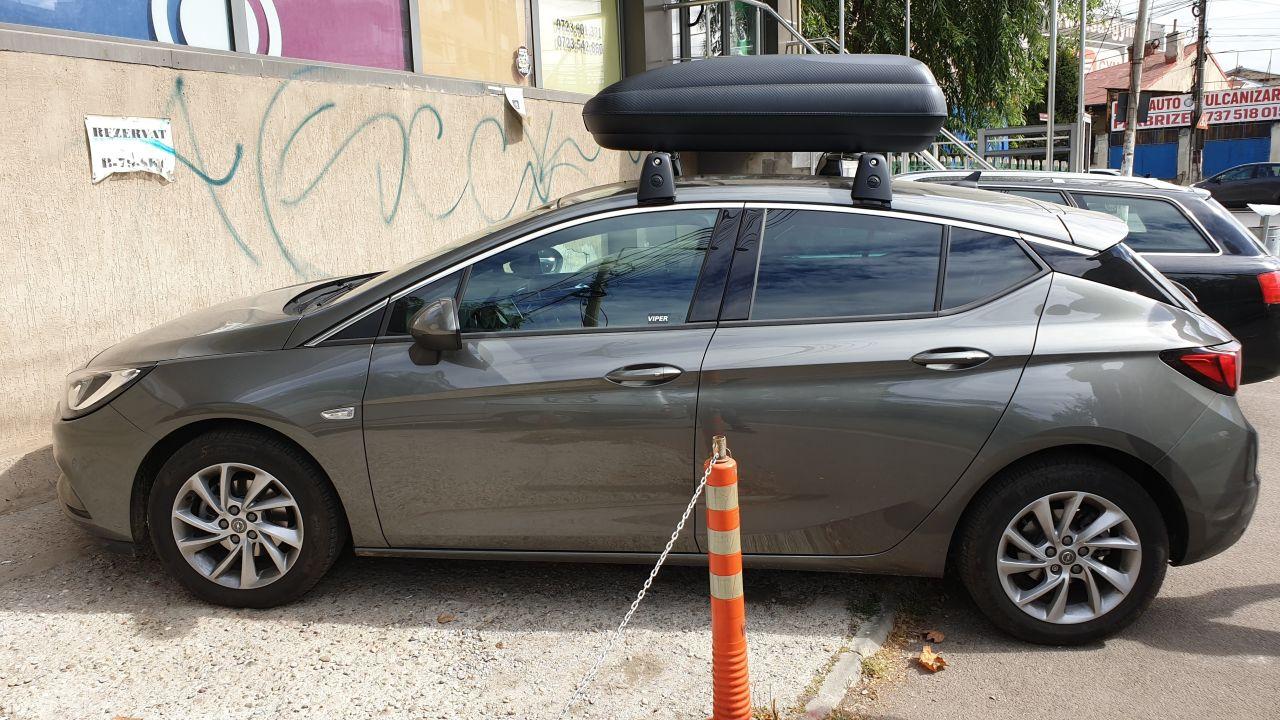 Opel Astra cutie portbagaj Carbon Look