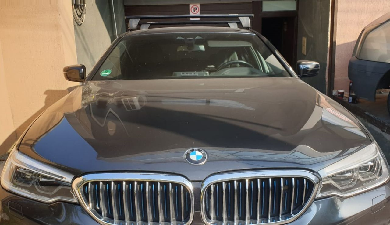 BMW bare transversale Menabo Delta Black