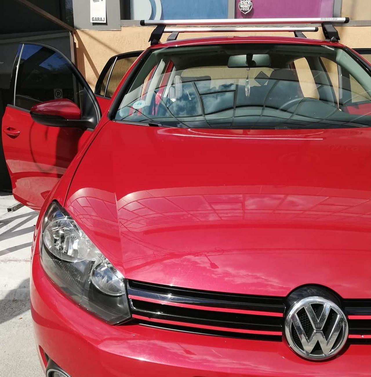 Volkswagen Golf 6 bare transversale Menabo Tema si suport bicicleta