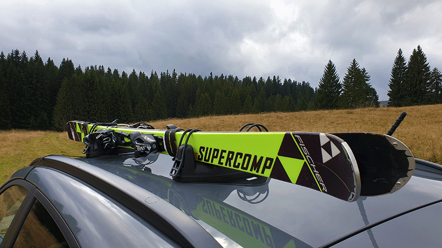 Suport schi magnetic sau suport schi pe carlig de remorcare? Ce sa alegi?