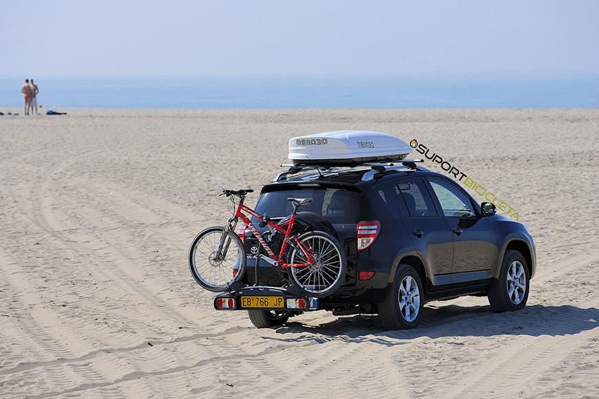 Suporti de bicicleta pe carligul de remorcare, cum ii alegem, cum se instaleaza?