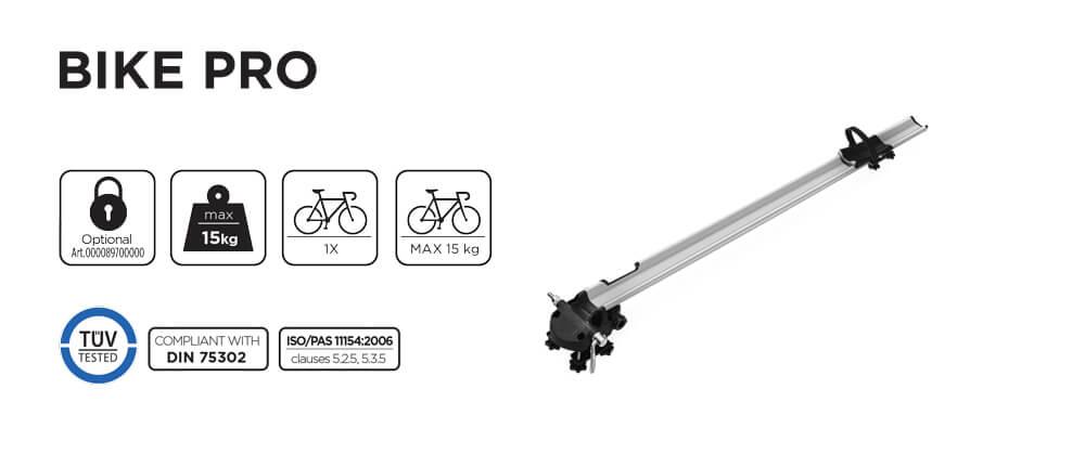 Suport bicicleta pe bare Menabo Bike Pro