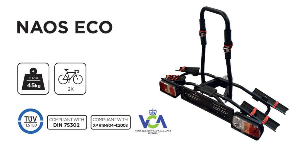 Suport bicicleta pe carlig Menabo Naos Eco