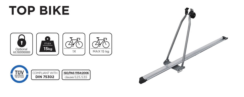 Suport bicicleta pe bare Menabo Top Bike